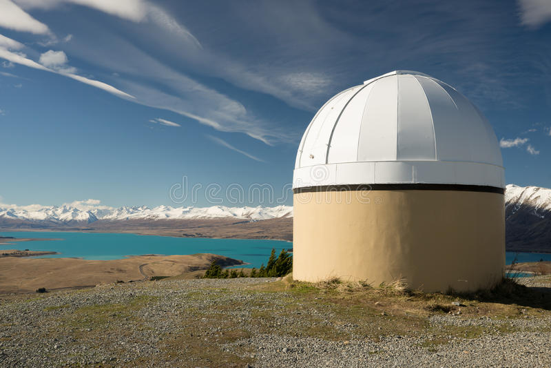 Mt John Observatory fotos de stock