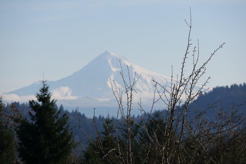 Mt Kapiszon w Oregon zdjęcie royalty free