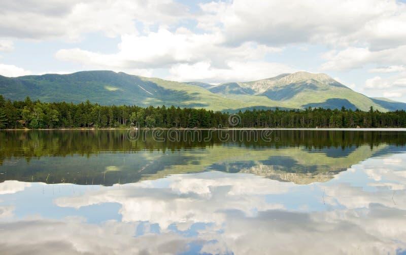Mt. Katahdin am Baxter-Nationalpark lizenzfreie stockfotos