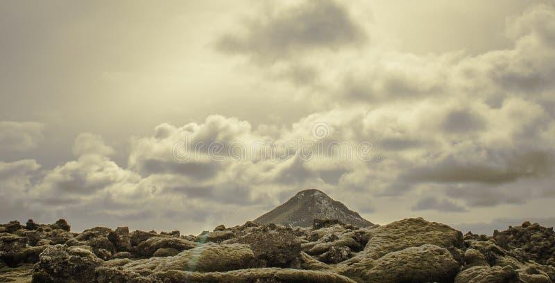 Mt Keilir, Islandia imágenes de archivo libres de regalías