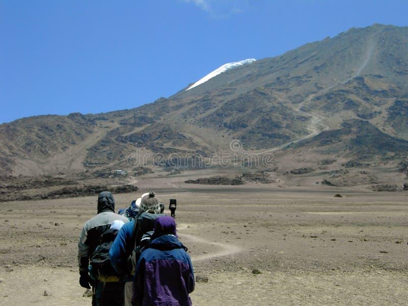Mt.Kilimanjaro stock image