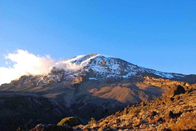 Mt Kilimanjaro - Moshi lizenzfreie stockfotografie