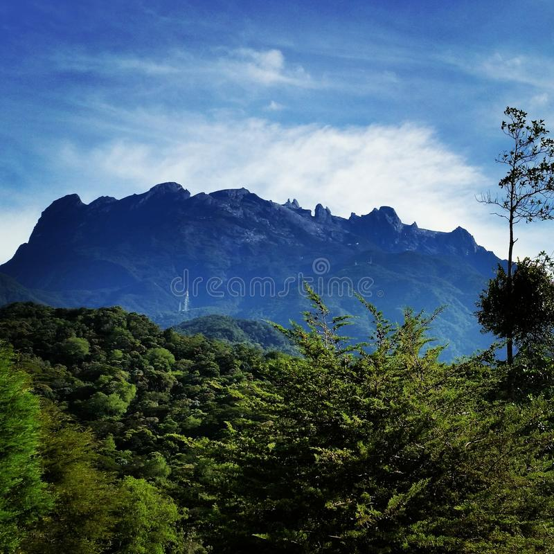 Mt Kinabalu 库存图片