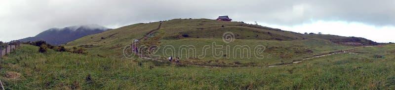 Mt Komagatake, parco nazionale di Hakone, Giappone fotografie stock libere da diritti