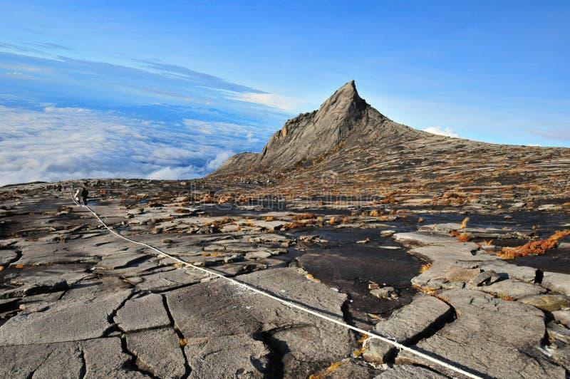 Mt. Kota Kinabalu. Highest Mountain in southeast Asian, Malaysia royalty free stock photos