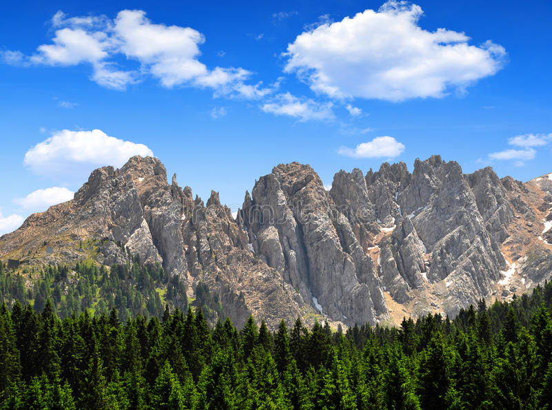 Mt Latemar royaltyfri fotografi
