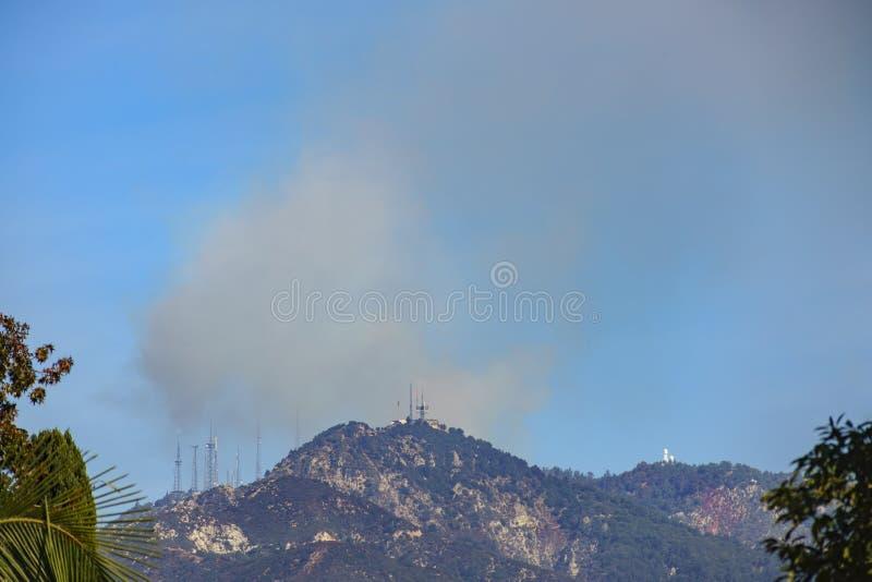 Mt Le feu de Wilson images stock