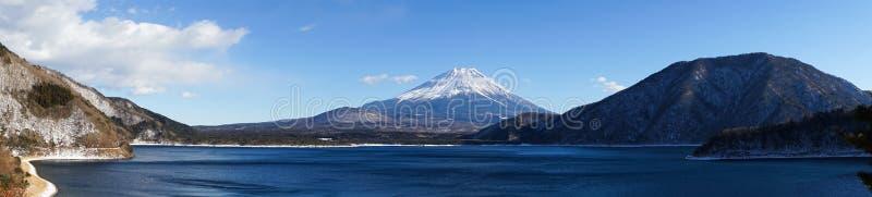 Mt Le mont Fuji et lac Motosu photo stock