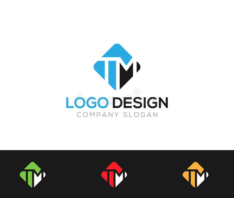 MT Letter Logo Template online store vectors illustration. This is very easy to use. U ca Use as your won simply vector illustration