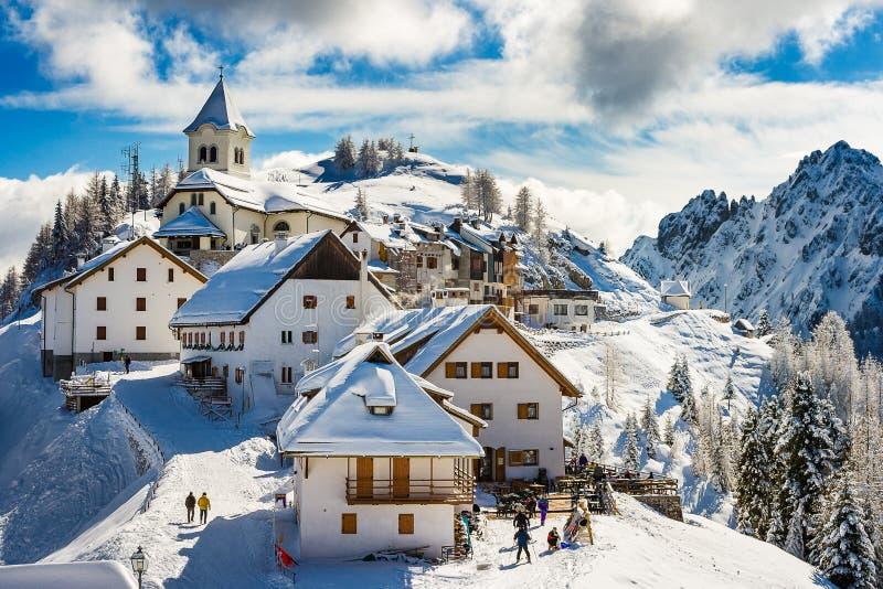 Mt Lussari foto de archivo libre de regalías