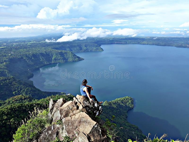 Mt Maculot imagens de stock