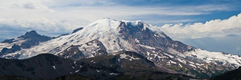 Mt. Mais chuvoso fotografia de stock
