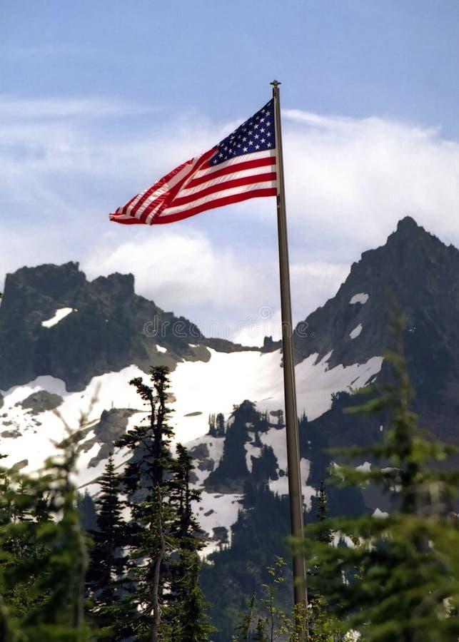 Mt. Majestät lizenzfreie stockfotografie