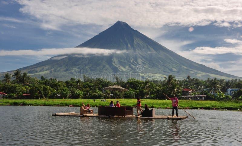 Mt.Mayon stock photography