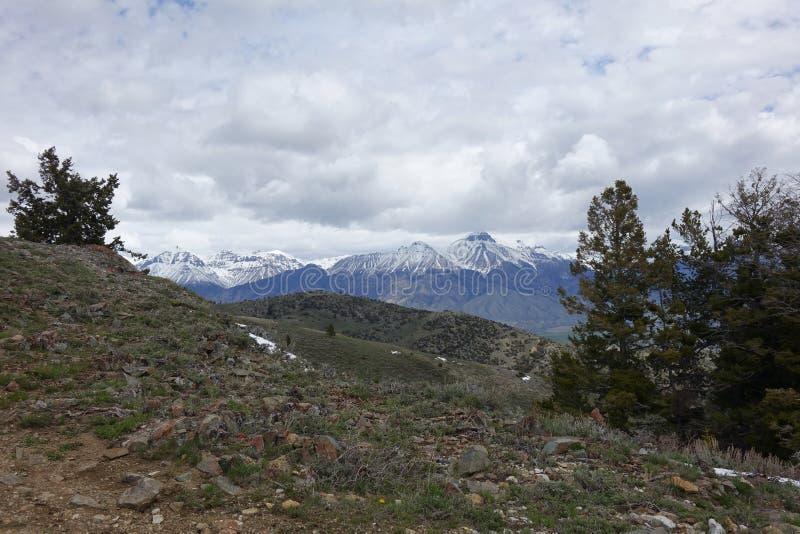 Mt McCaleb - Mackay, Idaho fotos de archivo libres de regalías
