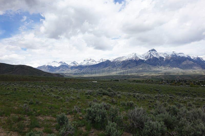 Mt McCaleb - Mackay, Idaho fotografía de archivo