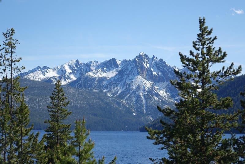 Mt McGowan - Idaho fotos de archivo libres de regalías