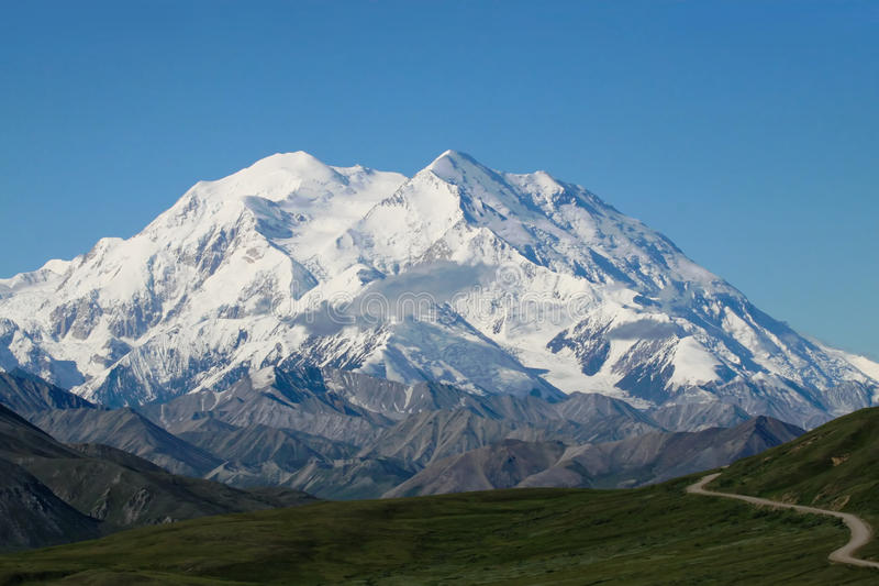 Mt. McKinley royalty-vrije stock fotografie