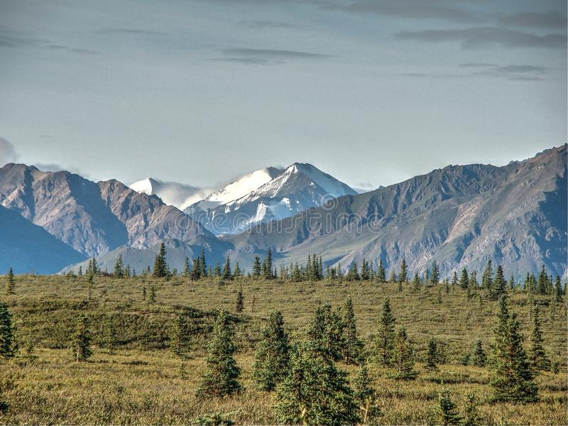 Mt McKinley Alaska obrazy stock
