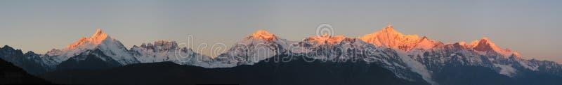 mt meili panorama zdjęcie royalty free