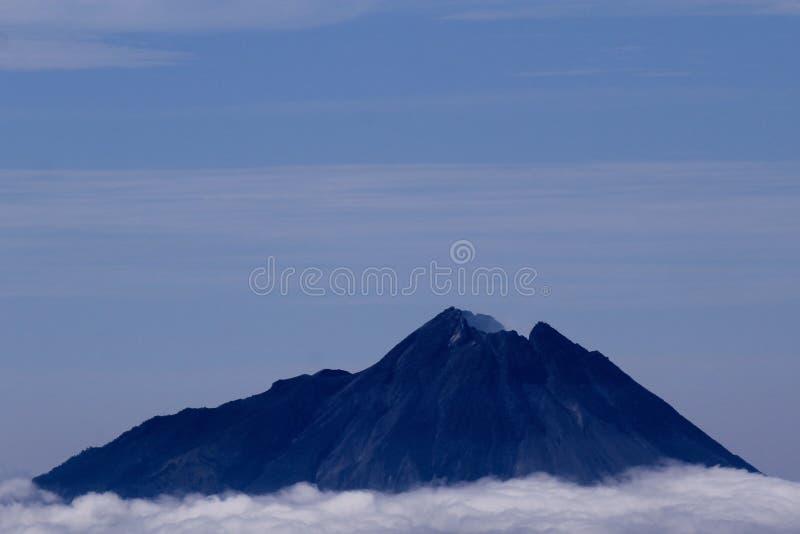 Mt Merapi obraz royalty free