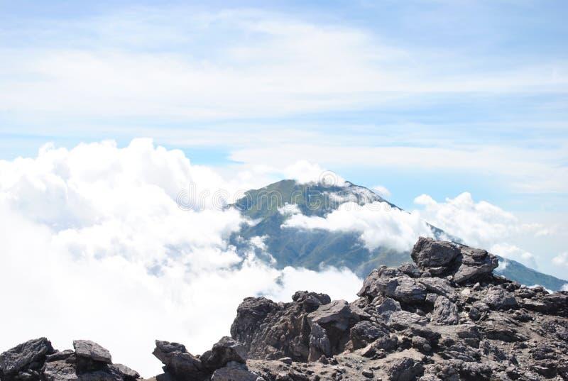 Mt Merbabu zdjęcia royalty free