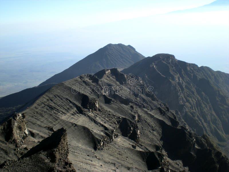 Mt MERU - Arusha foto de archivo