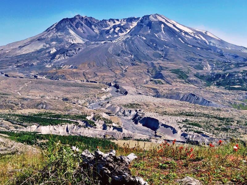 Mt Mount Saint Helens arkivfoto