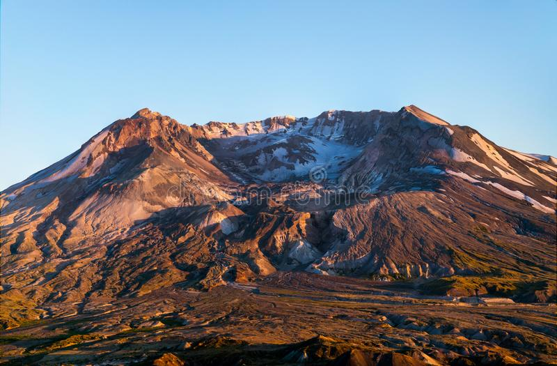 Mt Mount Saint Helens royaltyfri fotografi