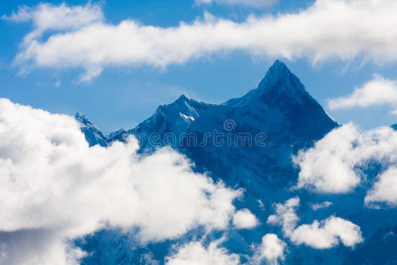 Mt. Namjagbarwa jokul stockbild