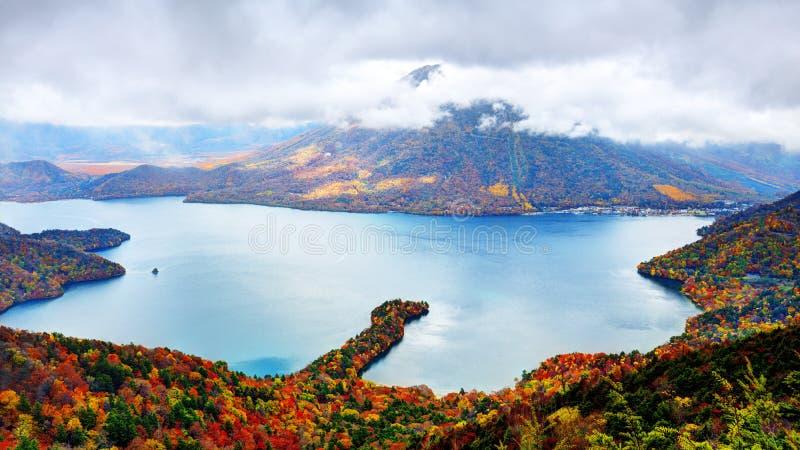湖Chuzenji 库存照片