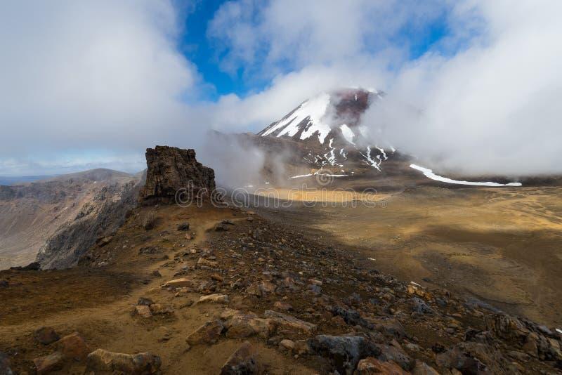 Mt Ngauruhoe stock images