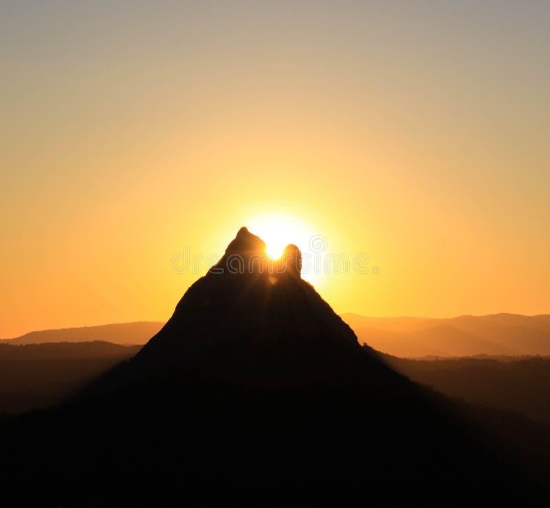 Mt Ngungun imágenes de archivo libres de regalías