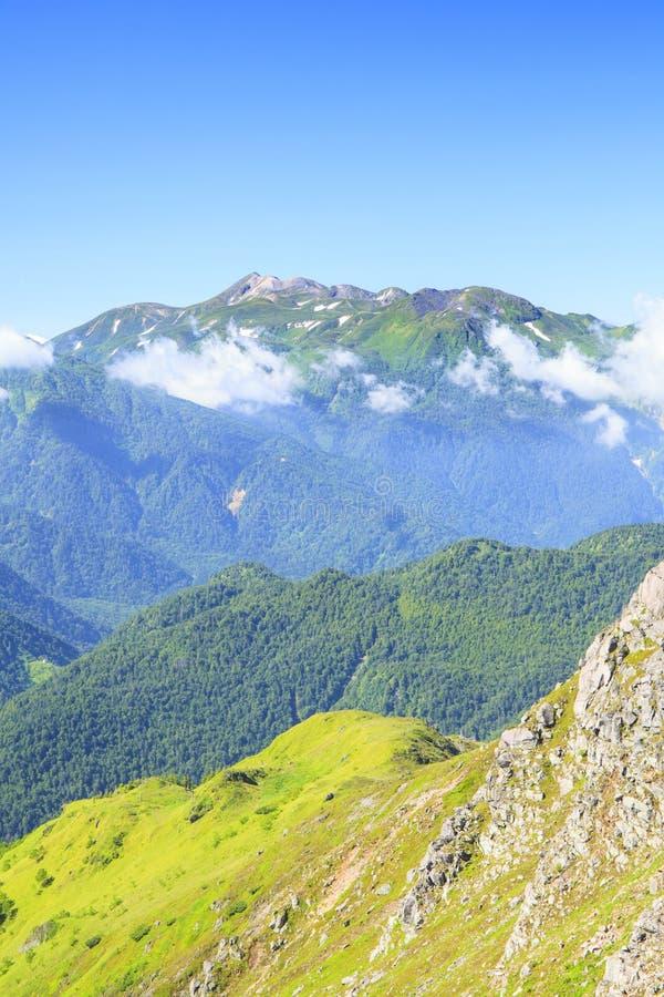 Mt. Norikura, Japan Alps stock image