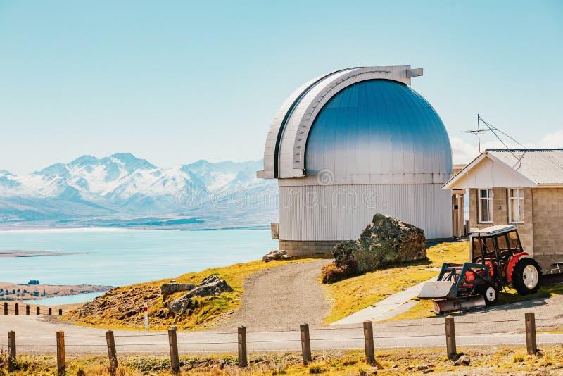 Mt observatoire de John chez le Nouvelle-Zélande images stock