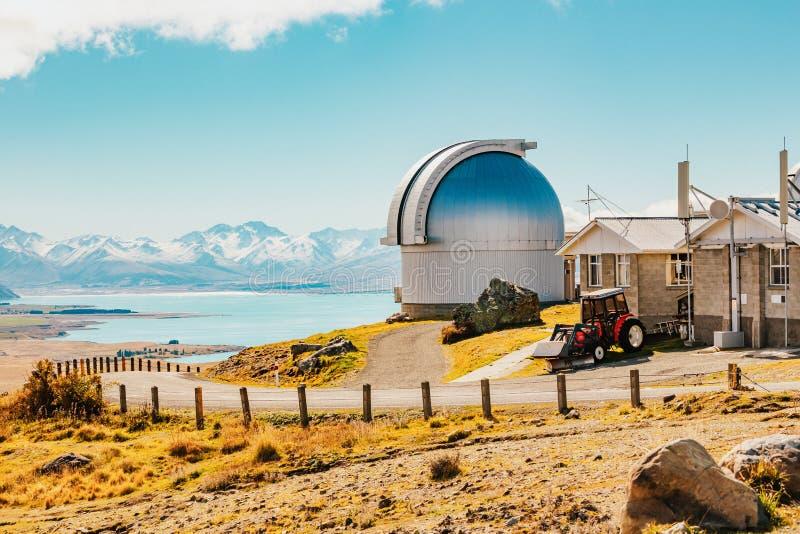 Mt observatoire de John chez le Nouvelle-Zélande image libre de droits