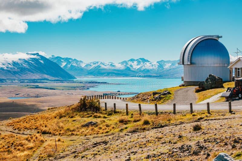 Mt observatoire de John chez le Nouvelle-Zélande photos stock