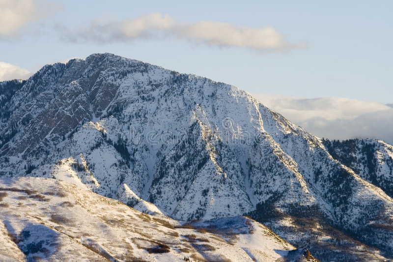 Mt. Olympus, Utah royalty free stock photography