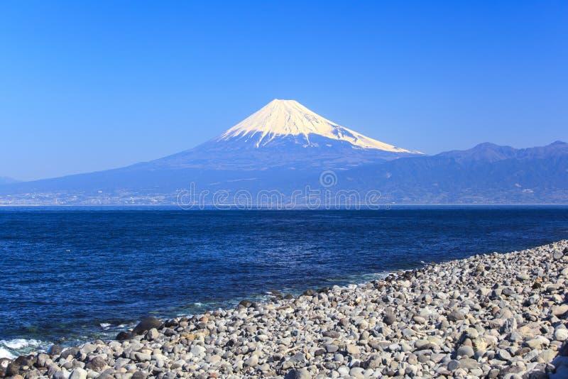 Mt Opinión de Fuji del cabo Mihama imágenes de archivo libres de regalías