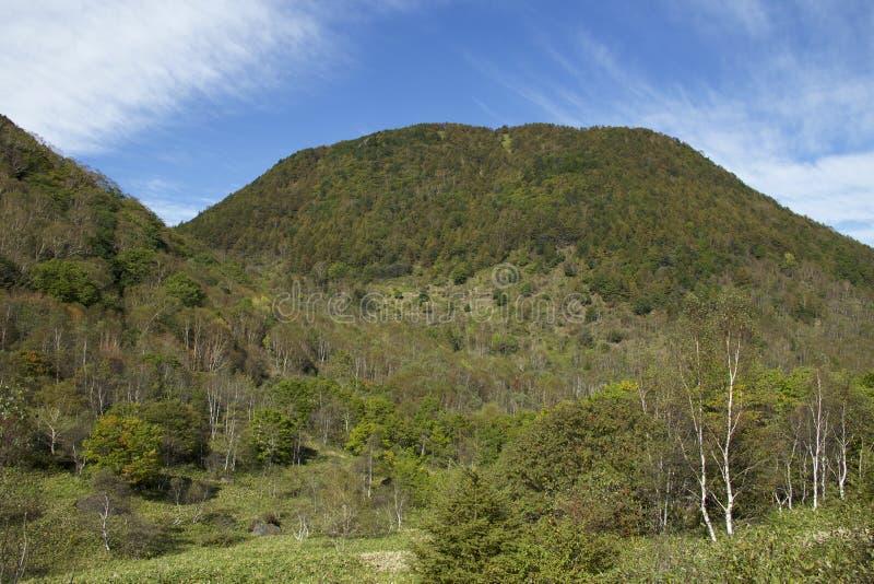 Mt Paisagem de Sajiki em Japão fotografia de stock royalty free