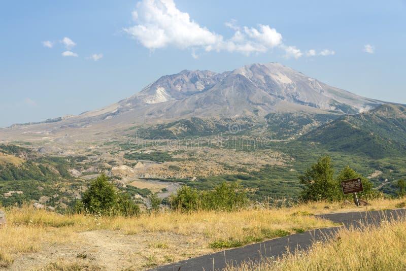 Mt Paysage de St Helens dans l'été photo stock