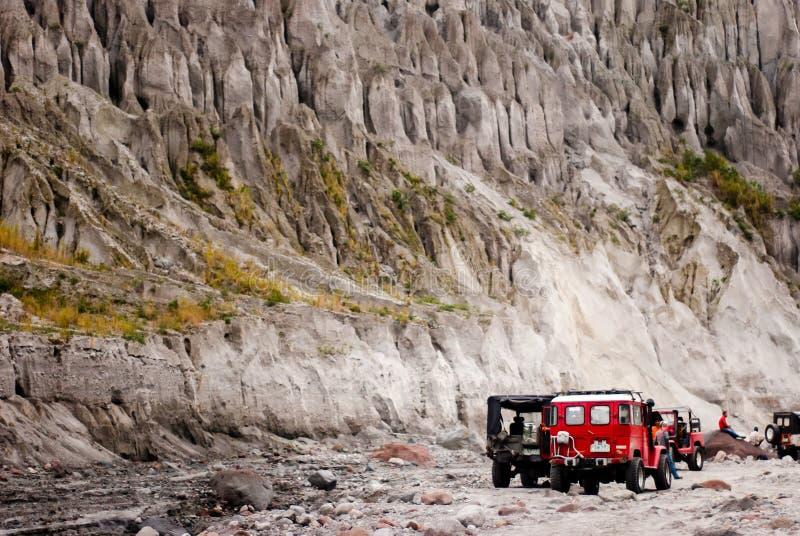 Mt Pinatubo affärsföretag royaltyfri fotografi