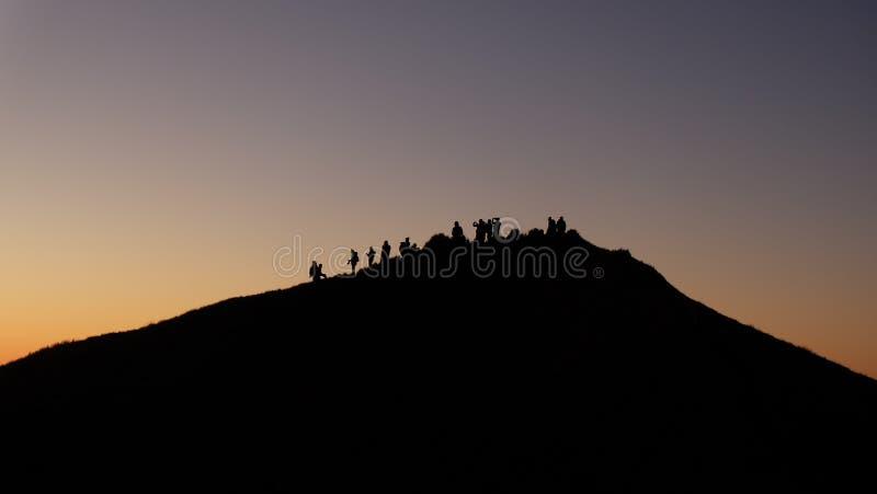 Mt Pulag lizenzfreies stockfoto