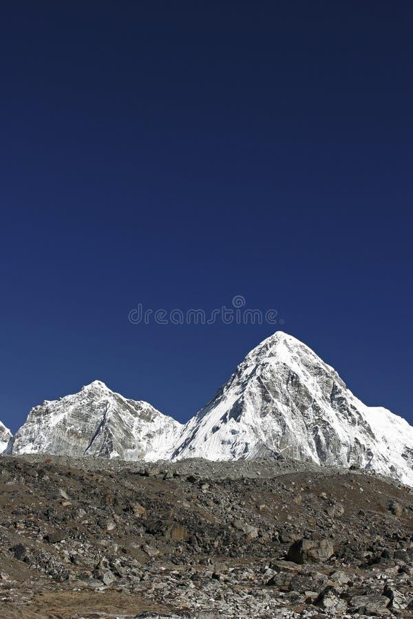 Mt. Pumori immagine stock
