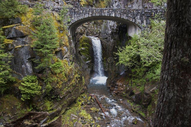 Mt Rainer Waterfall photo libre de droits