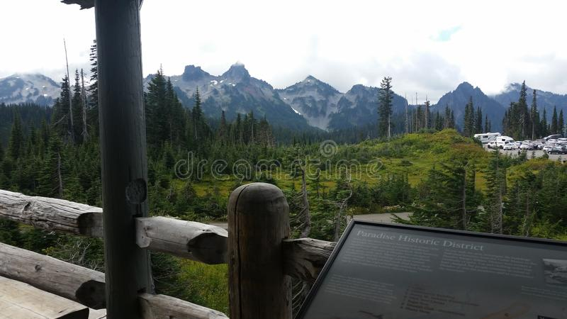Mt Rainier National Park royalty free stock image