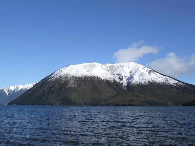 Mt Robert in neve fotografie stock libere da diritti