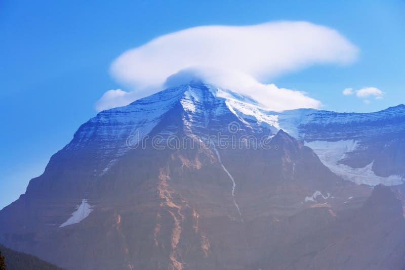 Mt Robson stockfotos
