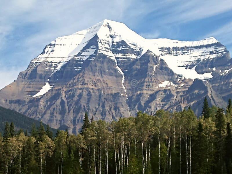 Mt Robson obraz royalty free