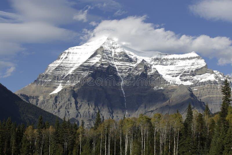 Mt Robson immagini stock libere da diritti